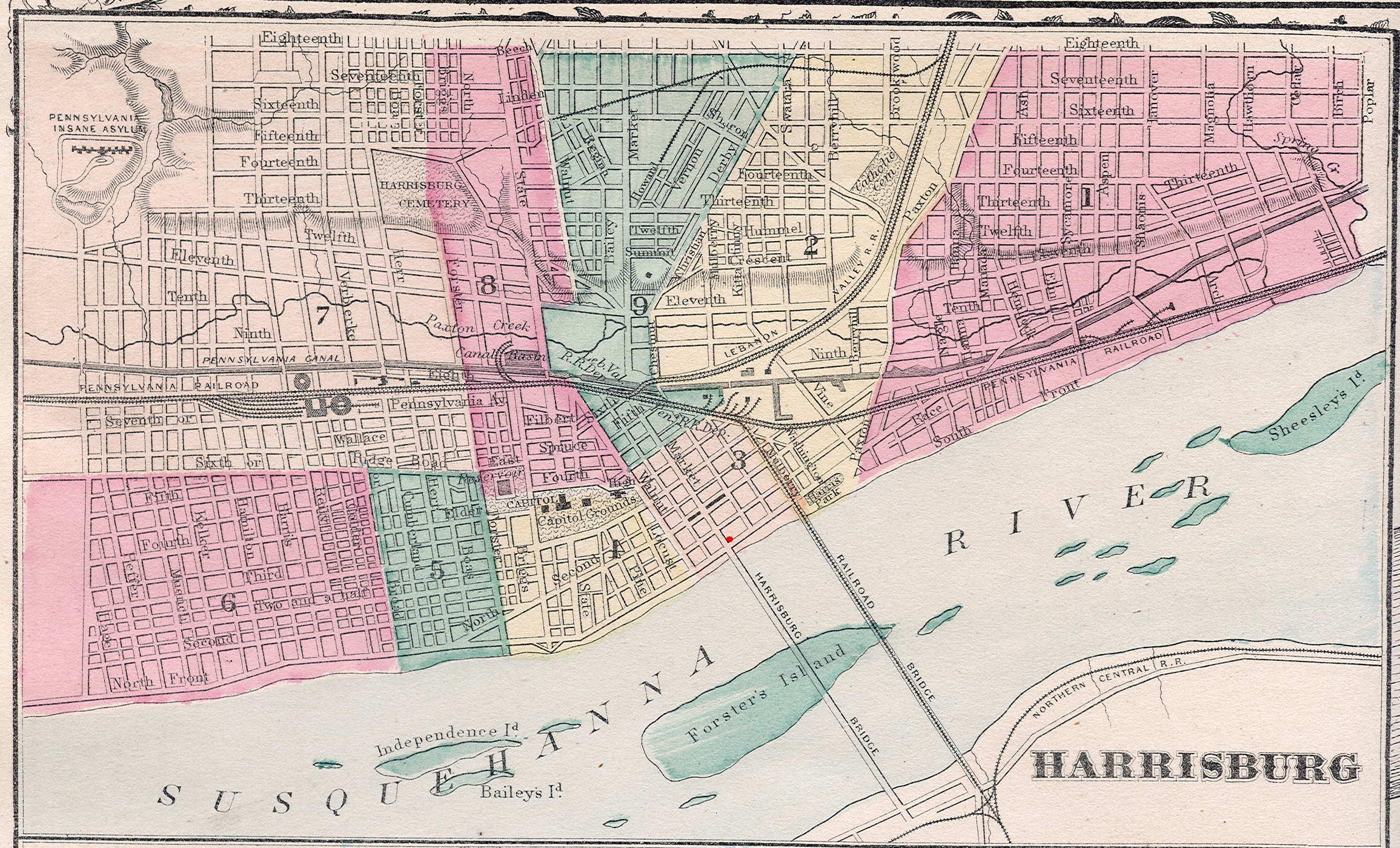 Harrisburg and the 1900 Census – Digital Harrisburg