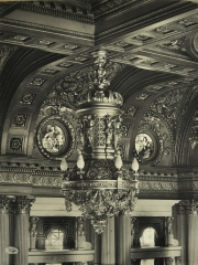Here is an example of how ornate everything in the new building is.